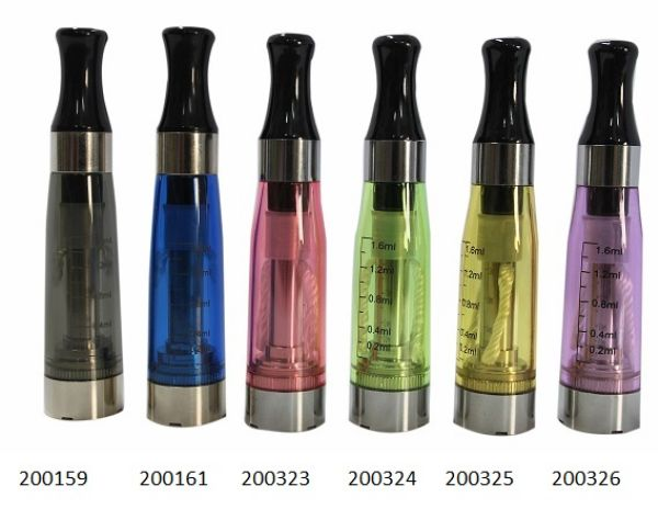 CE4 Clearomizer<br> 1,6ml in Gelb,<br>2,6ohm
