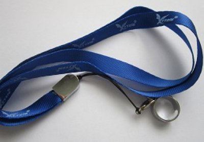 Collar for<br>e-cigarette, blue