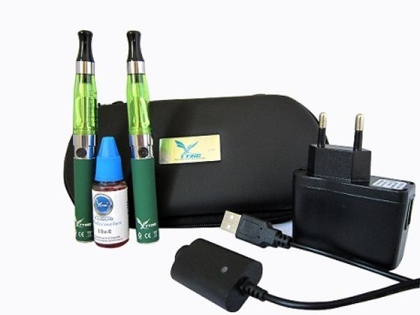 Proset E-cigarette<br> 900mAh clearomizer<br>DUO, Green