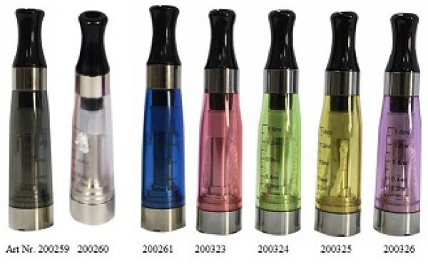 CE4 Clearomizer<br> 1,6ml in braun,<br>2,6ohm
