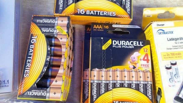 Duracell Batterien AAA