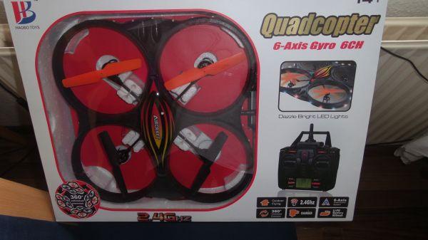 Quadcopter Gyro<br>Drohne 6 CH