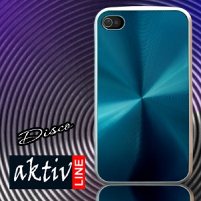 Protection Cover<br> for iphone 4 Bling<br>Bling blue met