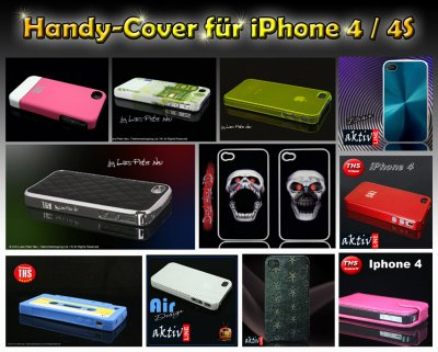 Handy- Cover<br> starter pack 50<br>pcs for iPhone 4/4 S