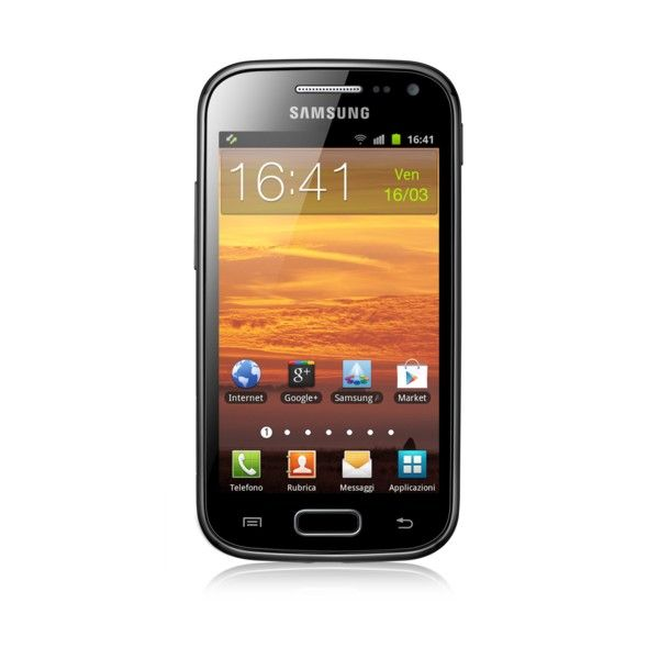 SAMSUNG GALAXY ACE<br>BLACK 2 I8160