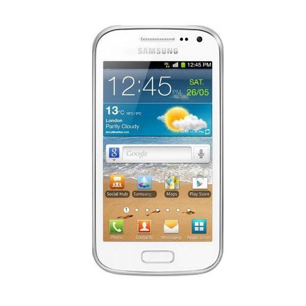 SAMSUNG GALAXY ACE<br>WHITE 2 I8160