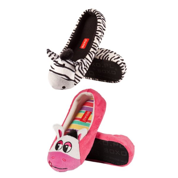 Ballerina slippers<br> for children SOXO<br>pets - Footwe
