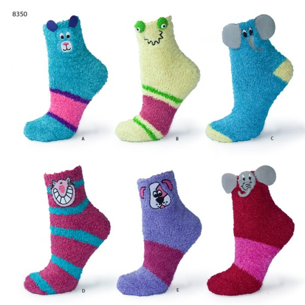 SOXO socks stuffed<br>with uszatymi pets