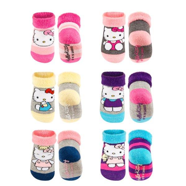 Chaussettes pour<br> enfants bracelets<br>Hello Kitty ave