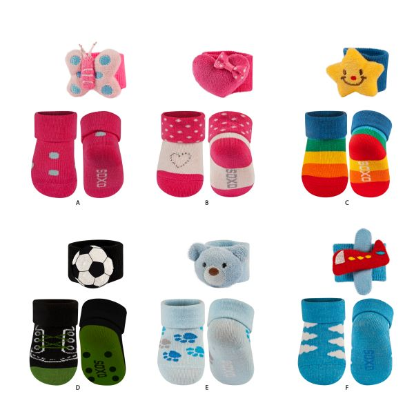 Children&#39;s<br> socks baby SOXO<br>set with headband
