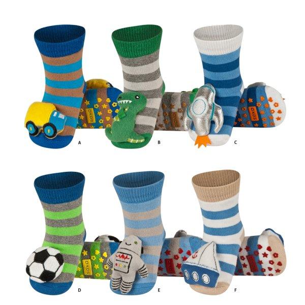 Socks for<br> children, SOXO,<br>socks with ratchet