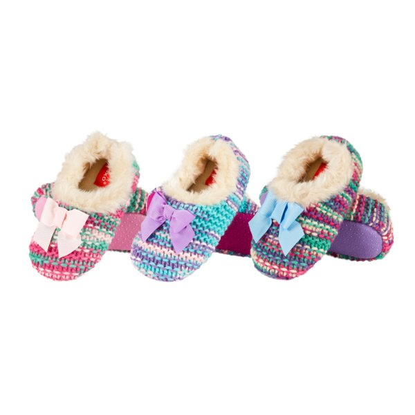 Ballerina slippers<br> for children SOXO<br>wool sweaters