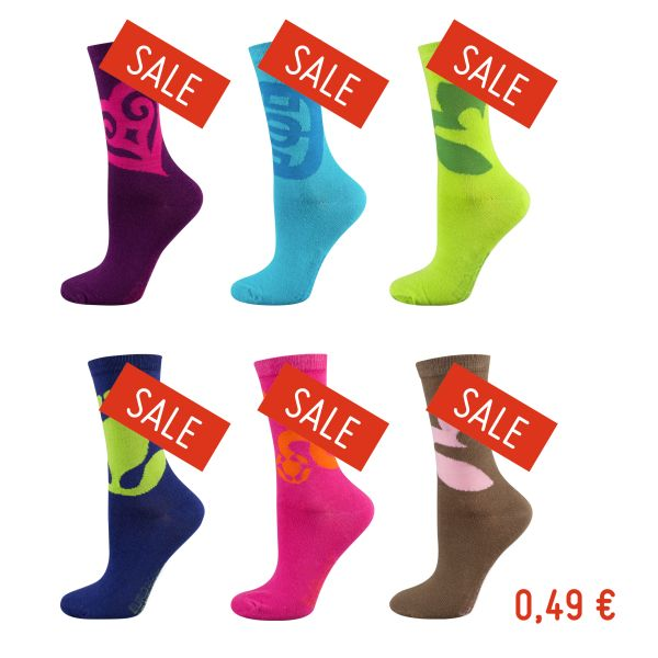 Ladies colorful socks size 35-40 - Bargain