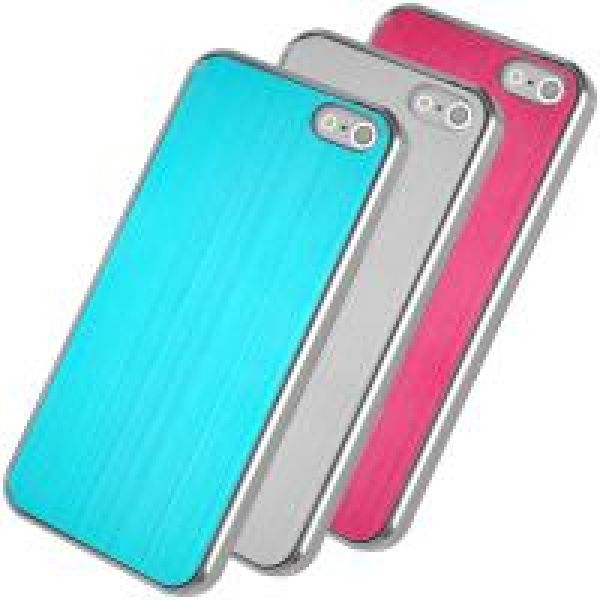iPhone 4 (S) brushed aluminum case