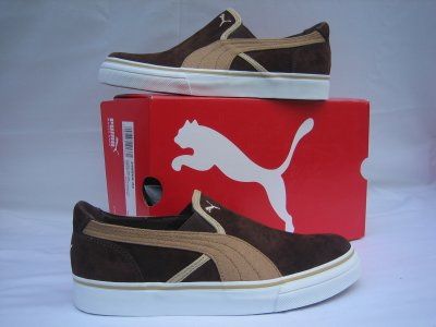 Puma - RIP SD<br> Sneaker Brown Orig<br>New with box