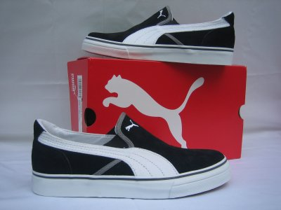 Puma - RIP SD Trainers Black / White Orig New
