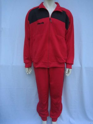 Reusch - Tracksuit<br>Red / Black