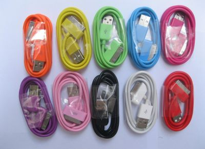 USB Charging Data Cable for Apple color