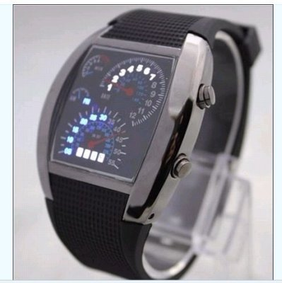 Aviation Digital<br>LED Wrist Watch