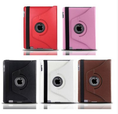 Rotating Leather<br> Case Cover Stand<br>for Apple iPad