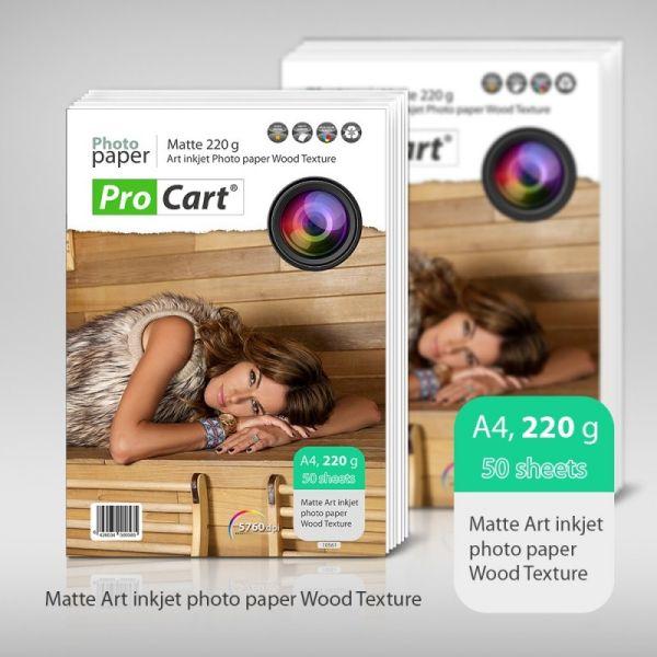Bussines Card Wood<br> Texture Paper<br>50pcs 220g Matte