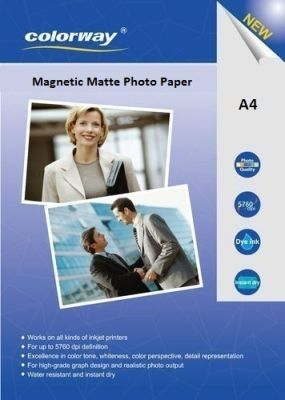 Magnetic Matte<br> 640g A4 Photo<br>Paper 5 pcs