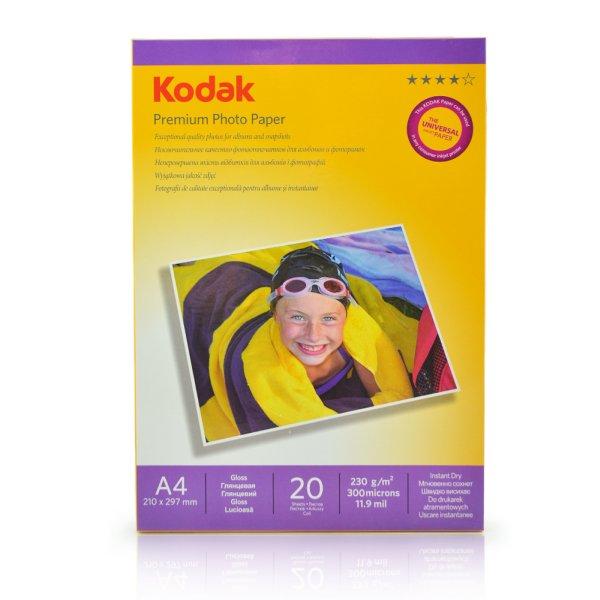 Kodak Photo Paper<br>Glossy A4 230g