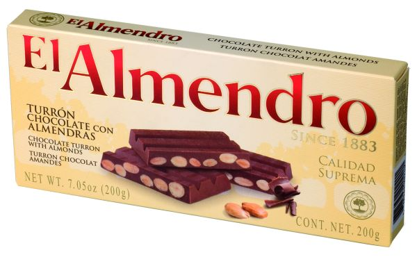 Chocolate Almond<br>Turron 200g