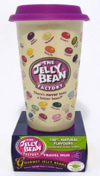Jelly Beans<br>  Coffee to go <br> Ceramic Travel Mug ...