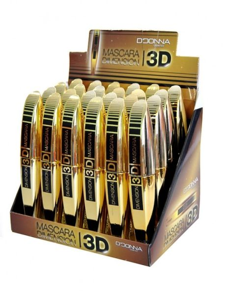 Display of 24<br>Dimension 3D Mascara