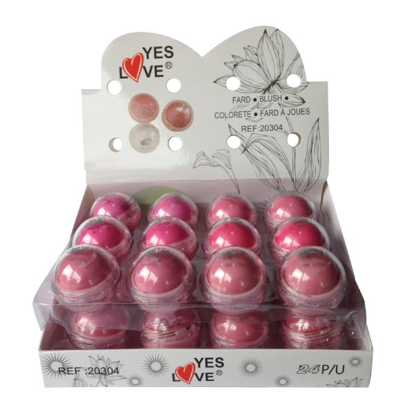 Display of 24<br>Blush Play Ball