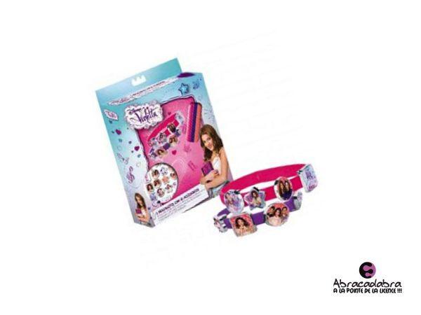 Silicone bracelets<br> + accessories<br>Violetta