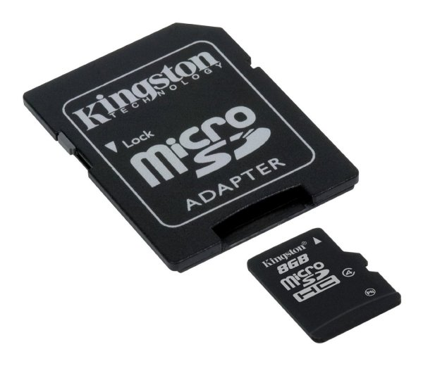 Kingston SDC 4/8<br> GB Class 4 8GB<br>micro SDHC card