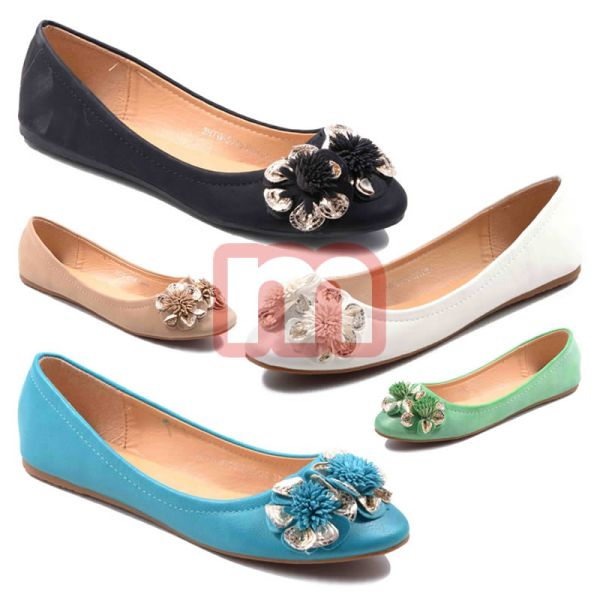 Edle Ballerina<br> Slipper Schuhe<br>Damen Shoes