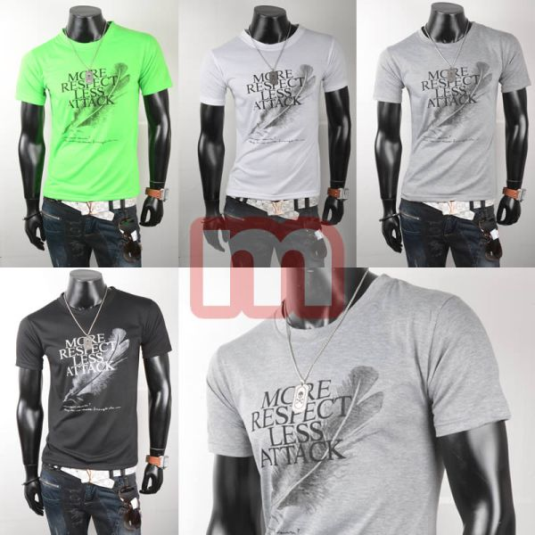 Férfi Sport<br> Szabadidő T-shirt<br>Felsők Top