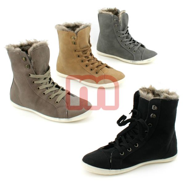 Ladies Casual<br> Shoes Sneaker<br>Boots Gr. 36-41