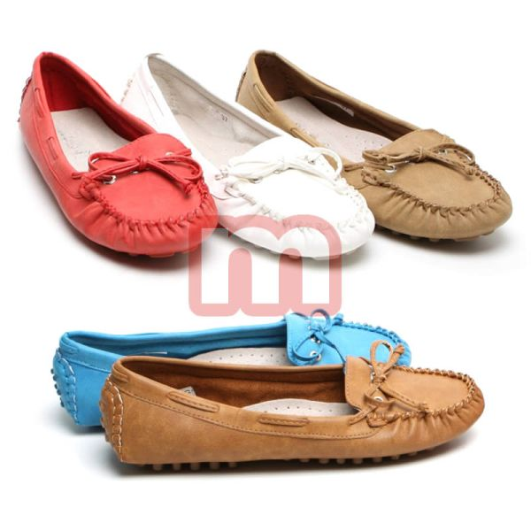 Ladies Moccasins Shoes Ballerinas Women