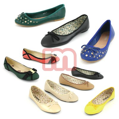 Damen Schuhe<br> Ballerina Mix<br>Woman Shoes