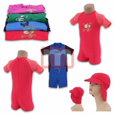 Children bathing<br> suits beach Boys<br>Girls UV Protect