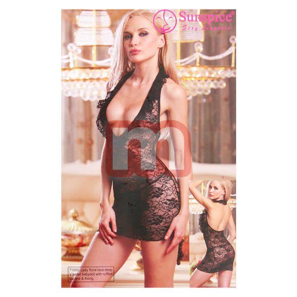 Sexy Women<br> Lingerie Babydoll<br> hálós mellény ...
