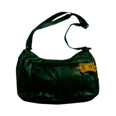 M & B lambskin leather bag.