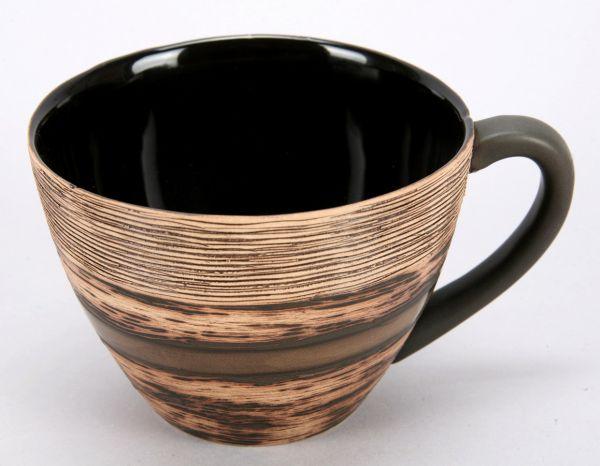 CUP / ceramics,<br>Dim. = 8,5X11,5 cm