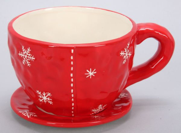 CUP / ceramics,<br>Dim. = 15 x 10 cm