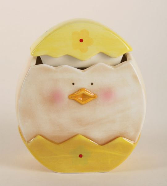 Dose - chick from<br>china, size 15x4 cm