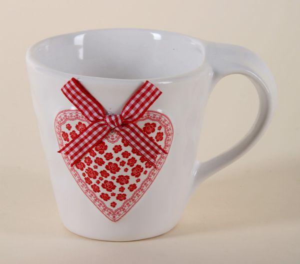 Ceramic cup, size<br>9,5x13,5x10 cm