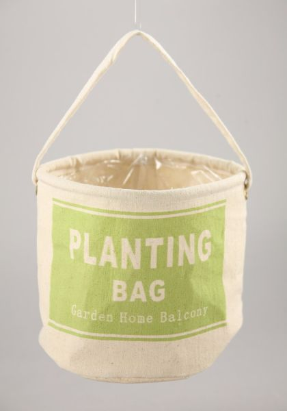 Plant bag with<br> foil, H = 12 / D =<br>13 cm