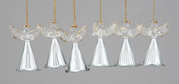 Glass - Angel, 8.5<br>cm, for hanging