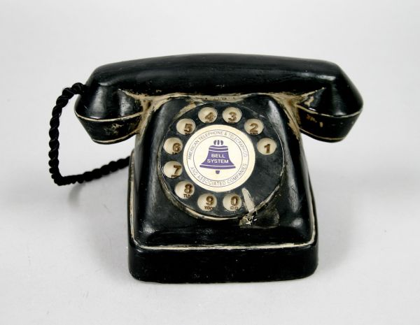 DECO TELEPHONE /<br>POLY, dim = 9x16 cm