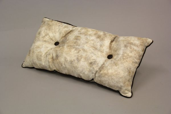 Coussin / simili<br> cuir, taille 30x60<br>cm