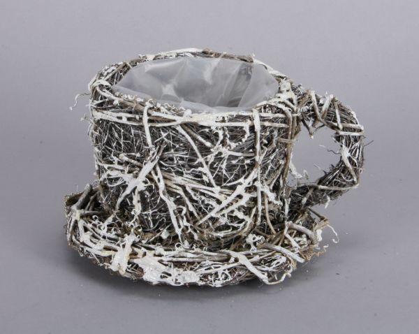 Basket - Cup /<br>vine, size 12x20 cm